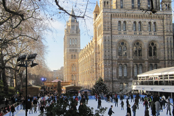Ice Skating - Natural History Museum