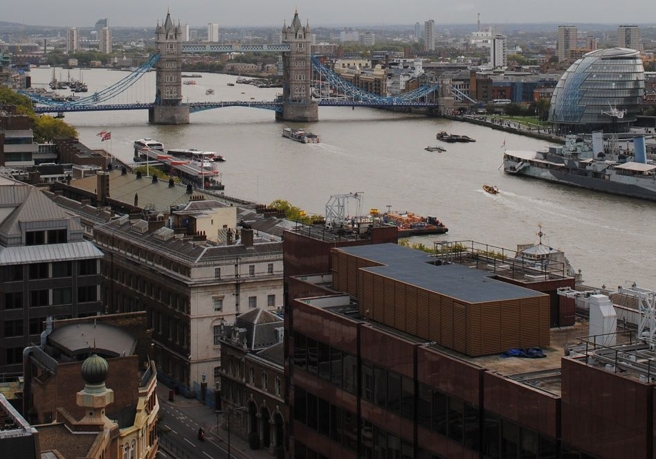 Tower Bridge view from Monument
