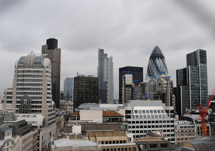 View from Monument, London