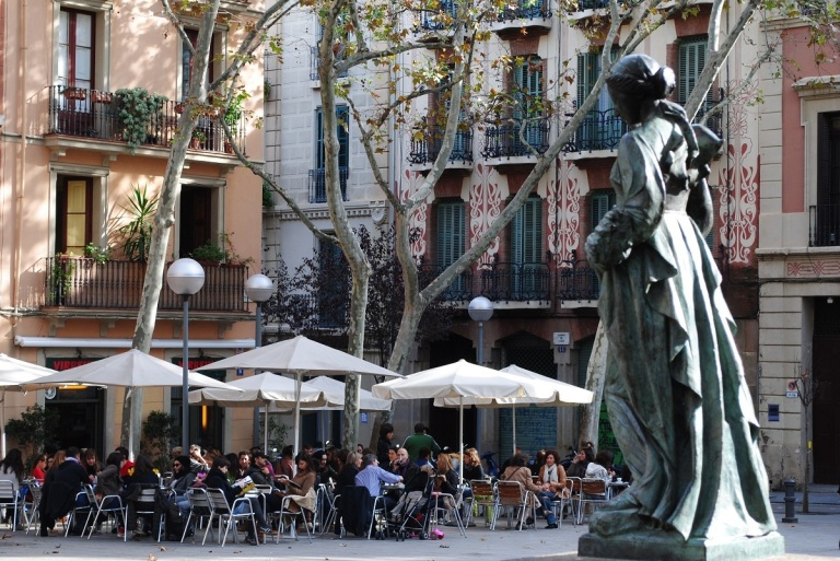 Plaça de la Virreina, Barcelona