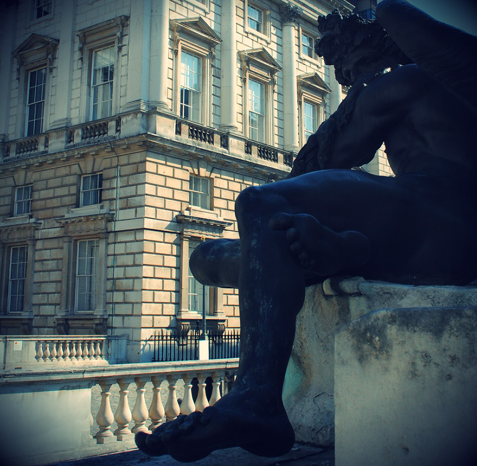 Somerset House Statue