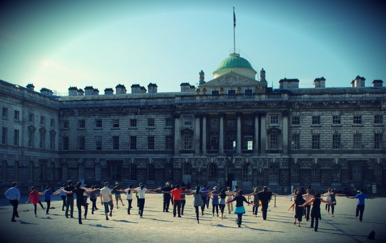 Tai Chi at Somerset House London