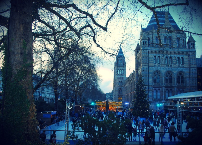 The Natural History Museum Ice Rink
