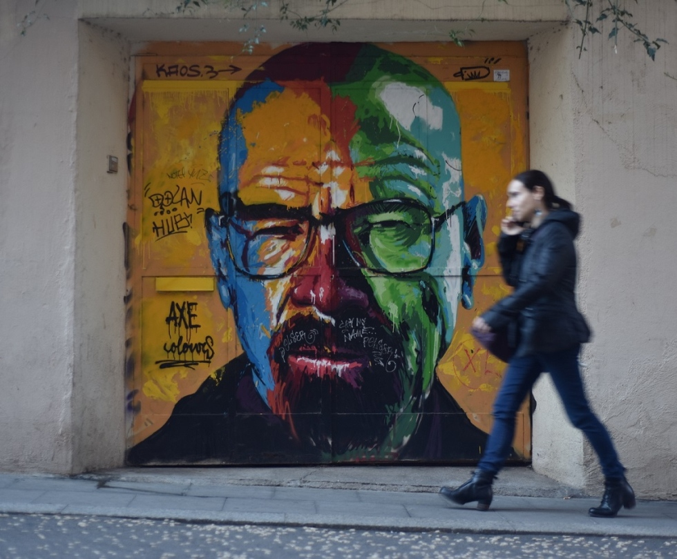 Walter White By Axe Colours in BCN